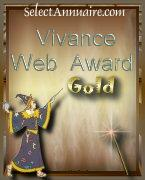 Vivance Web Award Gold